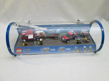 Lego Store Display - City 7239 7942 Fire Truck Off Road Rescue Retail Case