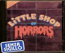 "THE ORIGINAL SOUNDTRACK "" LITTLE SHOP OF HORRORS "" CD NUOVO 1986 GEFFEN"