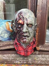 Mask bust dawn of the dead 78 plaid shirt zombie by MMFX studios very rare !