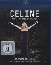 "CELINE DION ""THROUGH THE EYES OF THE WOLRD"" BLU RAY NEU"