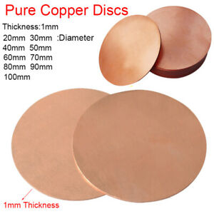 1.5mm Mild Steel Sheet Custom Cut Disc Upto 300mm Diameter