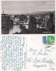 fehlerhaft 03.7.50 Heilbronn am Neckar Kleinformat stampsdealer