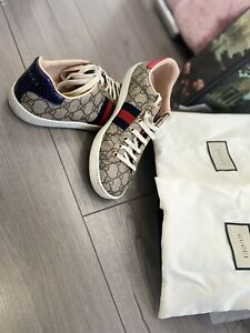 womens gucci trainers size 5