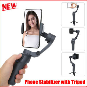 Handheld Mobile Phone Stabilizer Foldable Rotary Anti‑Shake Selfie Stick Tripod