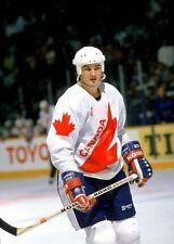 Mario Lemieux team Canada Canada Cup 1987 8x10 Photo