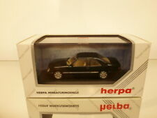 HERPA METALL 70096 MERCEDES BENZ E 320 COUPE -BLUEBLACK 1:43 - EXCELLENT IB (A)