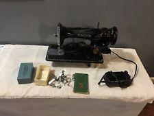 VINTAGE SINGER 15-91 Gear Drive SEWING MACHINE