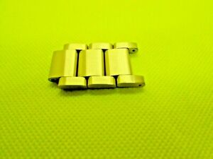 REPLACEMENT THREE  YELLOW GOLD  LINKS  WITH PIN  FIT  FOR  NIXON 48-20  BAND