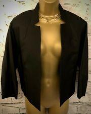 L K Bennett Ladies Black Silk & Cotton Formal Jacket US 6 EU 38 UK 10 RRP £425