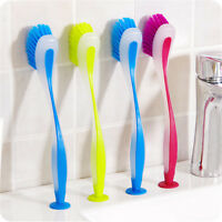 Practical Vertical Multifunctional Sink Cleaning Brush Dishwashing Pot Brush ^S
