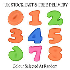 Cake Mould Silicone Number Shaped Birthday Anniversary Kids Baking Tray Party UK