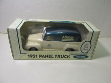 Ertl 1951 GMC Panel Agway Delivery Truck 1:25 Scale Diecast Coin Bank dc2918