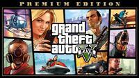 Grand Theft Auto GTA Five (V) 5 Premium Edition Region Free PC KEY Epic Games