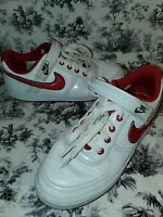 NIKE Vandal Low Women Size 9 RARE 2009 LOVE Edition Hearts University Red White