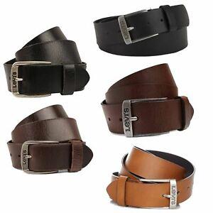 Mens Belts  LEVI'S Genuine Leather Belt, Men's Accessories, Leather Strap belt