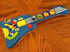 Tyco 1998 Sesame Street ELMO'S ROCK & ROLL Guitar (Lights Up /Battery Operated)