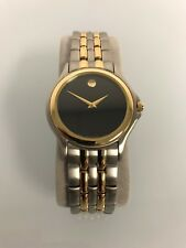 Movado Mens Wristwatches Watch Two Tone