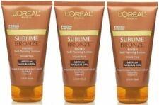 3 L'Oreal Sublime Bronze Tinted Self-Tanning Lotion, Medium Natural Tan, 5 oz