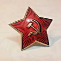 WW2 1940s Russian USSR Officer cockade badge star Hot Sale Military magnetized