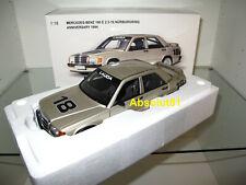 1:18 AUTOart 88431 Mercedes-Benz 190 E 2.3-15 Nürburgring 1984 Lauda Anniversary