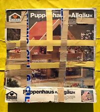 PUPPENHAUS Allgäu HENNIG Bodo PUPPENSTUBE Land HAUS 201 Neu HOLZ Spiel OVP 60 70