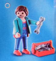 PLAYMOBIL 70025 Figures Boys Serie 15, Handwerker Mechaniker Werkzeug # 11 NEU