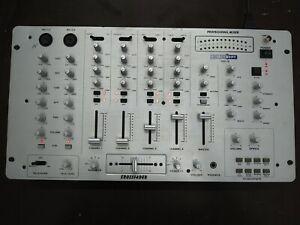 Mc Crypt DM-19 DJ-Mixer 6 Kanal Mischpult
