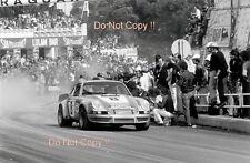 Muller & Van Lennep Porsche 911 Carrera RSR Targa Florio Win 1973 Photograph 1