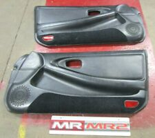 Toyota MR2 MK2 Turbo Leather Passenger & Drivers Side Door Card