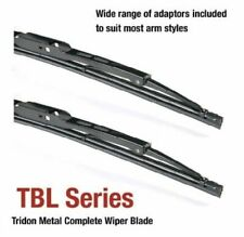 Tridon Frame Wiper Blades Pair of 26inch (650mm) & 16inch (400mm)