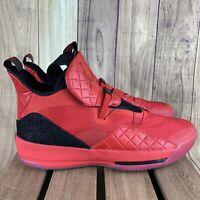 Nike Air Jordan 33 XXXIII Basketball University Red AQ8830-600 Men's Size 15 NEW