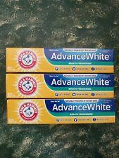 3 Pack Arm & Hammer Advance White Extreme Whitening Toothpaste 6.0 OZ ea x2023