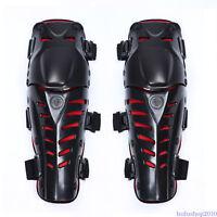 Motorcross Motor Cross Knee Shin Armour Pads Gear Protector Adult Dirt Racing