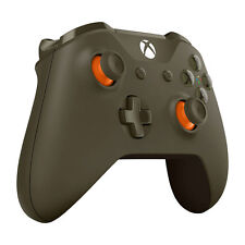 Microsoft Xbox One Bluetooth Wireless Controller - Green / Orange (WL3-00035) VG