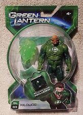 "NEW Mattel 5"" Tall Green Lantern Movie Kilowog 2010 w/ Energy Blast & Power Ring"