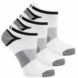 ASICS Quick Lyte Single Tab 3-Pack Mens Running Socks   Socks Comfort Technology