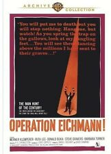 Operation Eichmann (2012, DVD NIEUW) DVD-R
