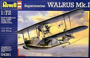 Revell 04391 Supermarine Walrus Mk.I 1/72 scale plastic model kit