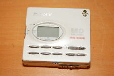Sony Md Walkman Mz-R91 White Portable Md Minidisc Recorder Parts or Repairs