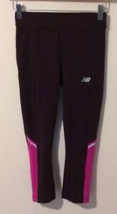 new balance leggings xs Burgundy NB Dry Used