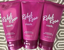 **5 oz**150 ml** Avon mark. Rebel Rose Shower Wash body wash cream Sealed USA