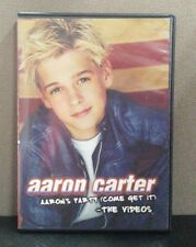 Aaron Carter - Aaron's Party (Come Get It) The Videos     (DVD)     LIKE NEW