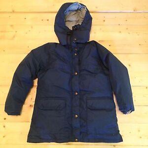 USA MADE ! REI Gore-tex Goose Down Hooded Sierra Parka Puffer Jacket Coat 1970s