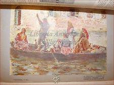 GIOVINEZZA Antica Rivista Illustrata 1909 n.13 Isole Caroline Ruffini Sciabica