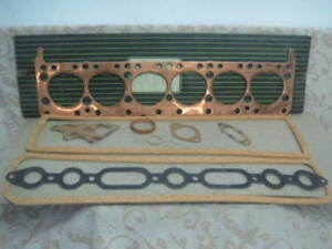 NOS OPEL 6cyl KAPITAN Blitz HEAD GASKET SET 1954-