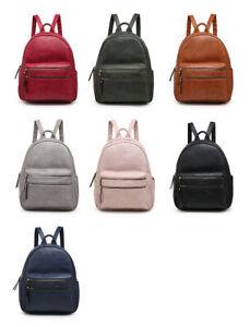 Craze London Womens Backpack Bag School College Travel Rucksack