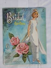 Vintage Whitman 1965 Bridal Paper Dolls # 1958 Rare Nice Paper Doll Set