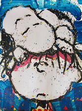 TOM EVERHART SLEEPYHEAD Hand Signed Ltd Edition Lithograph SNOOPY CHARLIE BROWN