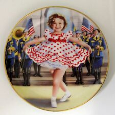 """Shirley Temple """" Stand up and cheer """" plate# B1993 Danbury Mint Collector Plate"""