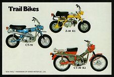 1970 HONDA TRAIL BIKES Z-50K1 CT-70 CT-90K2 SALES AD MINI TRAIL